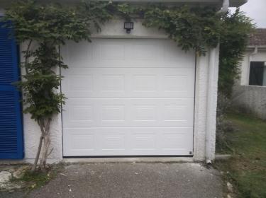 Porte Garage Blanche