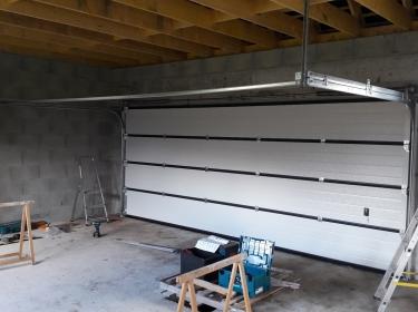 Porte Garage Sectionnelle Anthracite